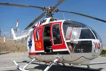 بالگرد امداد هوایی در چهارمحال و بختیاری سقوط کرد
