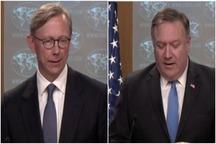 وزیر خارجه آمریکا: «گروه اقدام ایران» تشکیل شد/ هوک، مسئول «گروه اقدام ایران»: دولتهایی که از ایران نفت وارد کنند را تحریم خواهیم کرد/ توپ در زمین تهران است