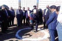 کلنگ طرح توسعه یک مجتمع خدماتی و رفاهی در آبیک زمین زده شد