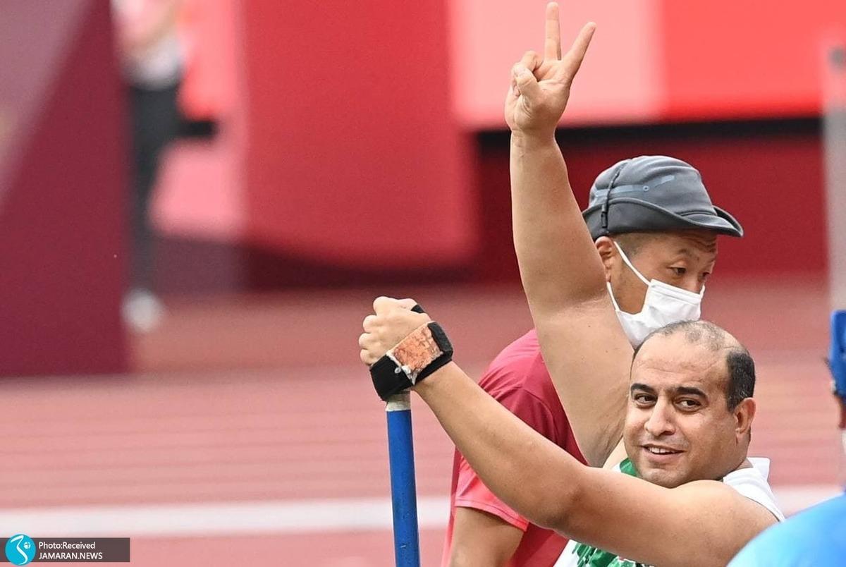 طلا بازهم پرید؛ علیرضا مختاری نایب قهرمان پارالمپیک شد+عکس