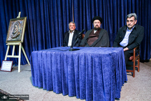تجدید میثاق شهردار و اعضای شورای اسلامی شهر تهران با آرمان های حضرت امام(س)