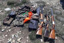 پنج شکارچی متخلف در مهاباد دستگیر شدند
