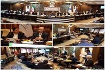 پانزدهمین جلسه کمیته حمایت قضایی از سرمایه گذاری در اتاق بازرگانی اردبیل
