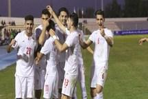 برتری ملی پوشان امید فوتبال ایران برابر سوریه