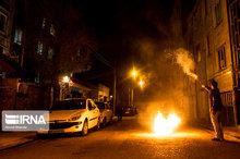 ۵۱ نفر در حوادث چهارشنبه سوری کردستان مصدوم شدند
