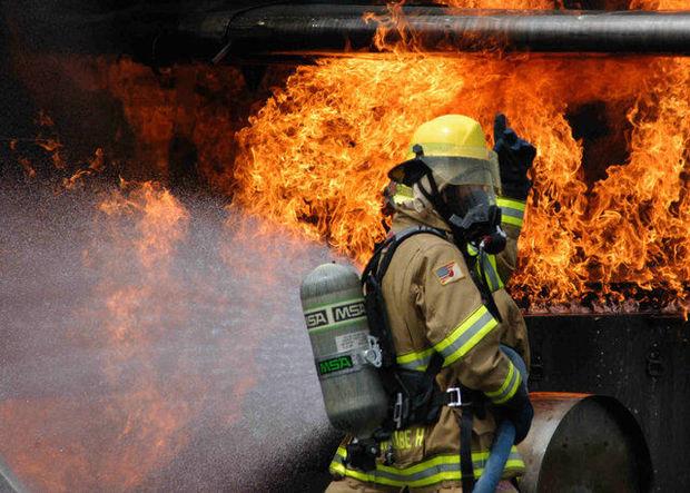 آتش سوزی مغازه در قزوین یک کشته برجا گذاشت