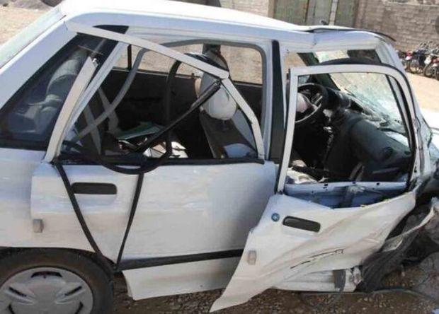 تصادف در محور امیرآباد به جاجرم یک کشته داشت
