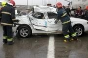 یک کشته در تصادف رخ به رخ دو وانت