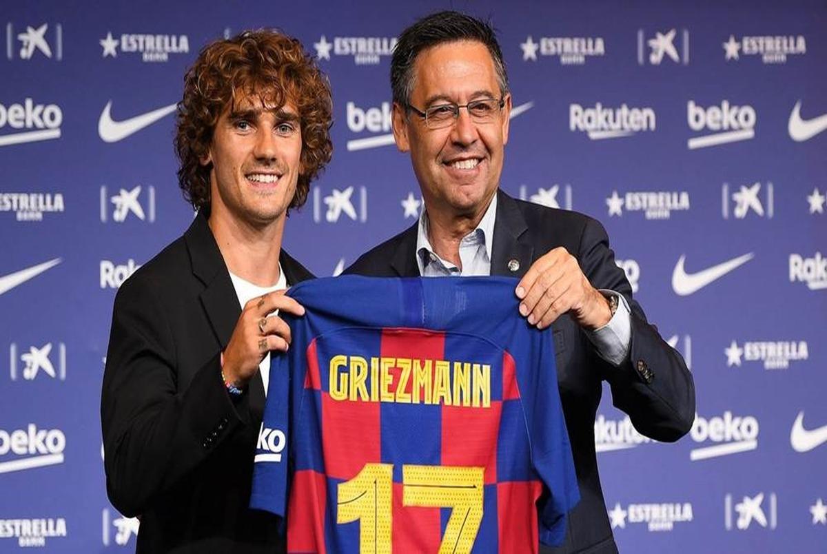 مبلغ قرارداد گریزمان با بارسلونا لو رفت!