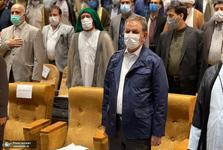 جهانگیری: آب مال خوزستان است/ ما با یکدیگر می توانیم بر مشکلات غلبه کنیم/ با رئیسی در مورد مصوبه دولت برای خوزستان صحبت کردم/ کسی در این کشور نمی تواند دستور رهبری را اجرا نکند