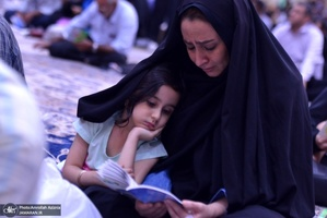 مراسم دعای عرفه در حرم مطهر امام خمینی(س)