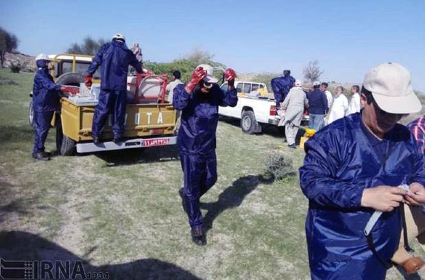 مبارزه با ملخ صحرایی در سیستان و بلوچستان به 65هزار هکتار رسید