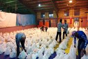 اهداء 2500 سبد غذایی به نیازمندان تایباد
