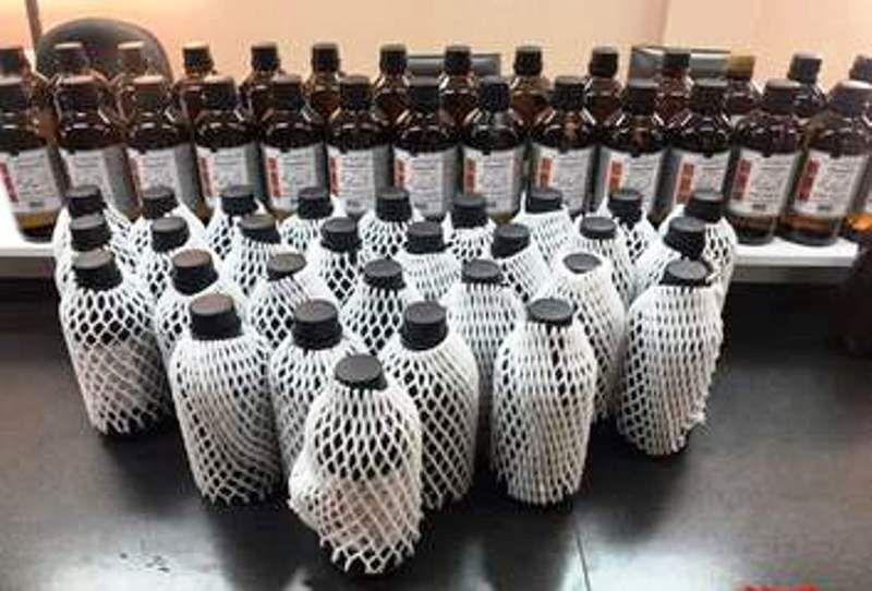 ۱۷۲ بطری الکل سفید در میبد کشف شد