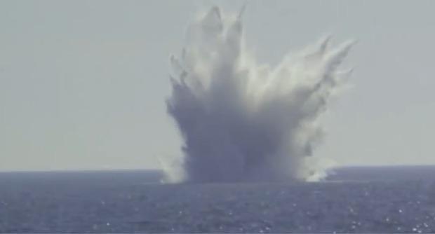 انفجار بزرگترین بمب بازمانده از جنگ جهانی دوم در لهستان + فیلم