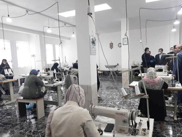 تولید ۲۰ هزار ماسک؛ سهم مراکز نیکوکاری مازندران در مبارزه با کرونا