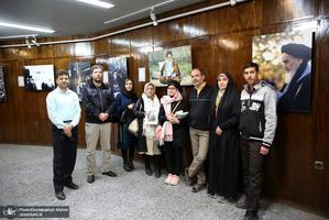 بازدید گردشگران نوروزی از بیت امام خمینی(س) در جماران -4