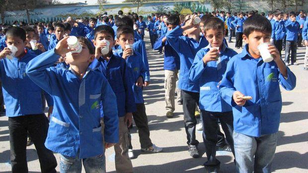 شیر در بوشهر توزیع شد