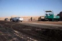 عملیات اجرایی قطعه سوم بزرگراه کهنوج - رودان آغاز شد