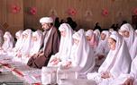 جشن عبادت جمعی از دانش آموزان منطقه 19 شهر تهران در جوار حرم امام خمینی(س)