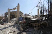 بمباران شدید مواضع افراد مسلح در شمال سوریه توسط روسیه