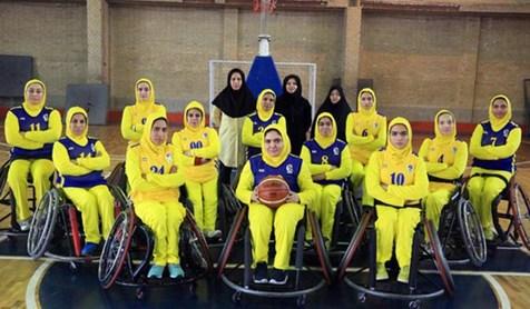 برتری تیم بسکتبال با ویلچر بانوان در نخستین گام