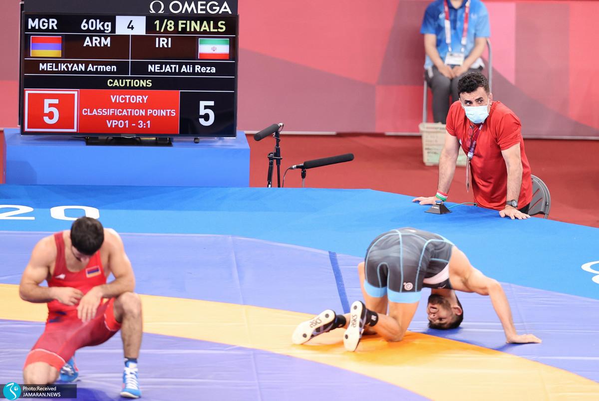 گزارش تصویری| کاروان ایران در روز دهم المپیک 2020 توکیو