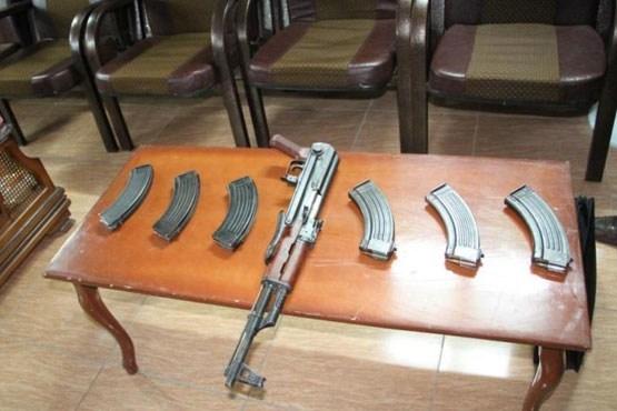انهدام شبکه قاچاق سلاح در سردشت
