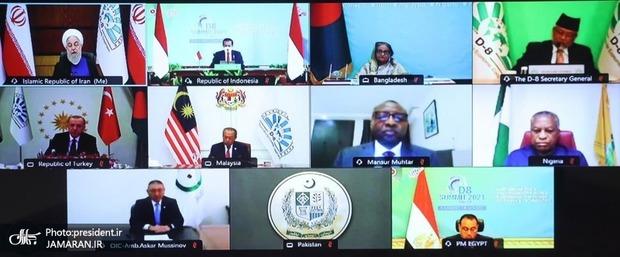 بیانیه پایانی گروه دی 8 منتشر شد/ استقبال از تاسیس دانشگاه بین المللی در شهر همدان