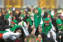 همایش شیرخوارگان حسینی در 170 مکان مذهبی استان قزوین برگزار شد