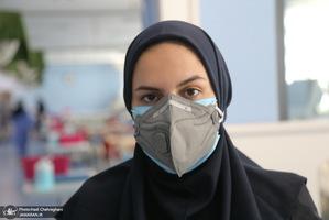 بخش کرونای بیمارستان فرقانی قم