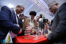 بازدید رهبر انقلاب از نمایشگاه کالای ایرانی