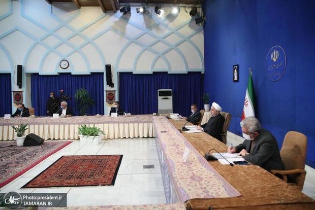 روحانی: در حادثه سیل فروردین ماه سال 98 همه مردم پای کار آمدند