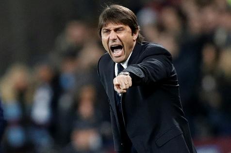 تنش و توهین میان کونته و رییس باشگاه یوونتوس در جام حذفی ایتالیا