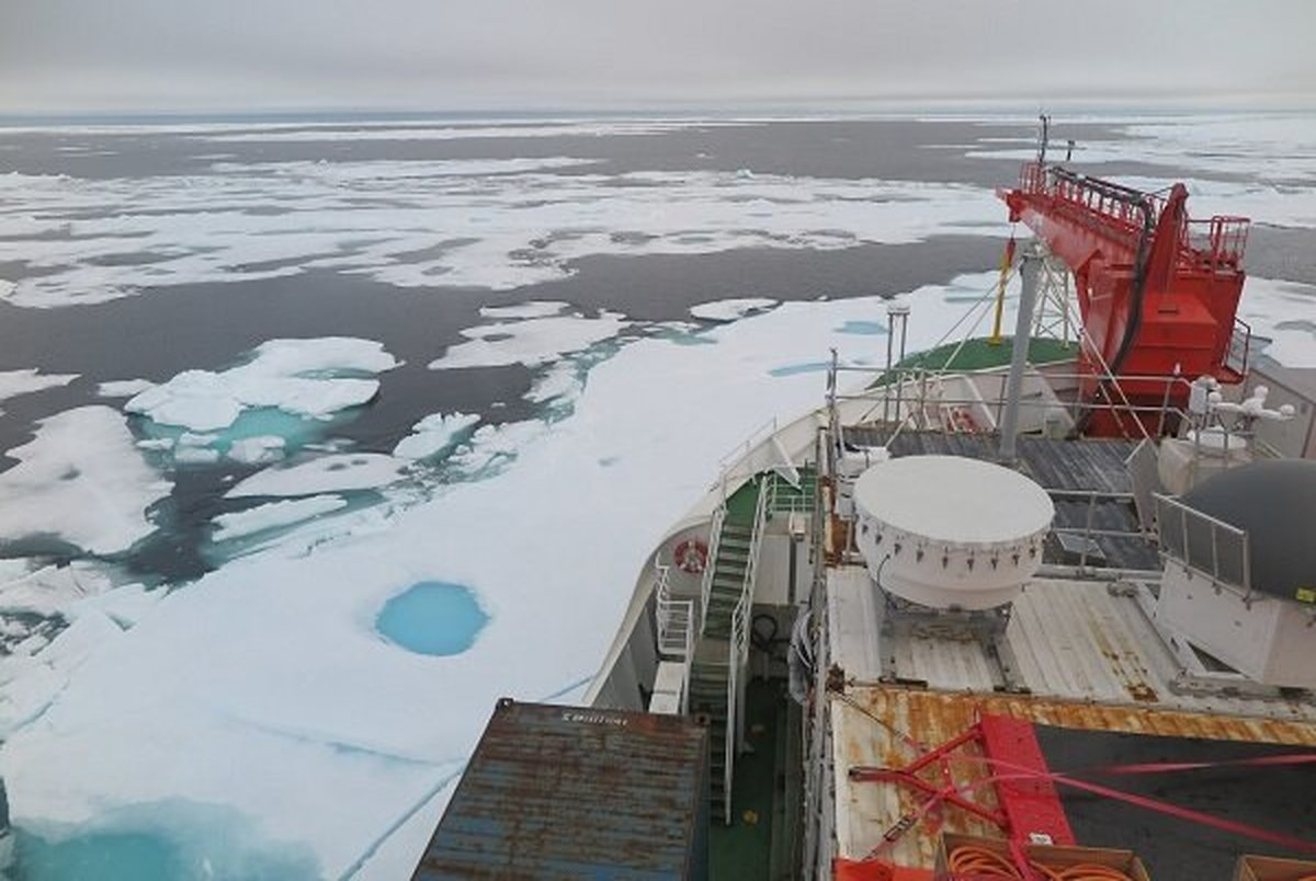 شکسته شدن رکورد ذوب یخ در سردترین نقطه قطب شمال