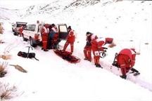 امدادرسانی هلال احمر به ۹۲۰ مسافر گرفتار برف