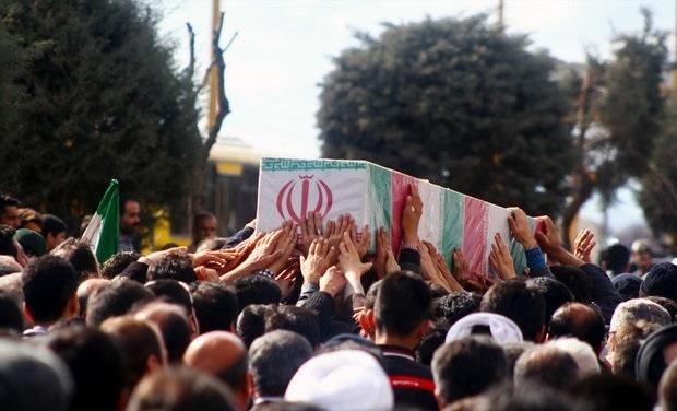 پیکر جانباز 70 درصد کرمانشاهی تشییع شد