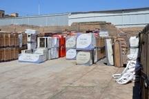 کشف کولرهای گازی قاچاق در قزوین