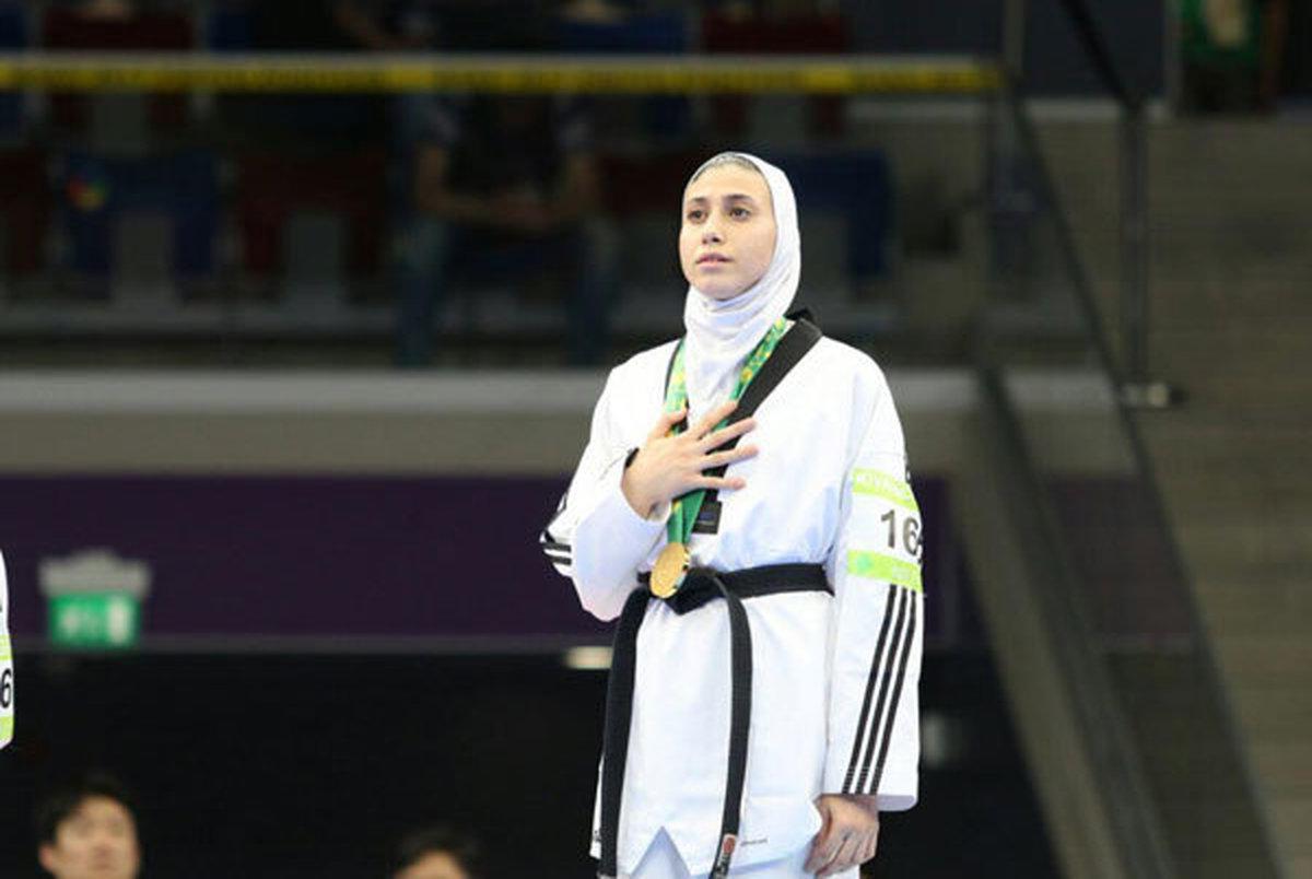 ناهید کیانی چهارمین بانوی المپیکی تکواندو شد/ تعداد سهمیههای ایران به ۶۱ رسید