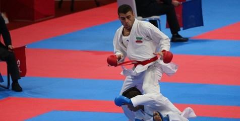 مدال برنز کاراته کاهای ایران در سری A اتریش