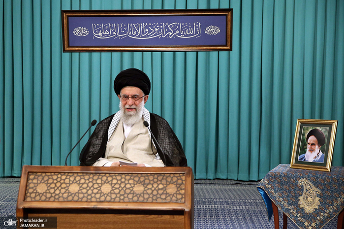 سخنرانی رهبر انقلاب اسلامی در آستانه برگزاری انتخابات 1400