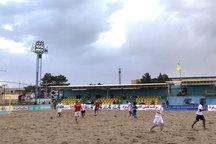 تیم فوتبال ساحلی شهدای چلیچه آبادانی ها را با شکست بدرقه کرد