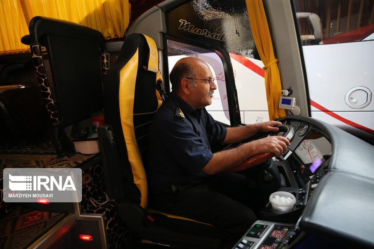 کرونا حمل و نقل مسافری مازندران را زمینگیر کرد