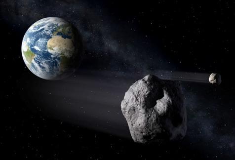 عبور سیارکی به اندازه بوئینگ 737 از نزدیکی زمین