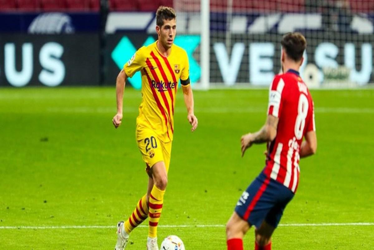 بازداشت بازیکن بارسلونا