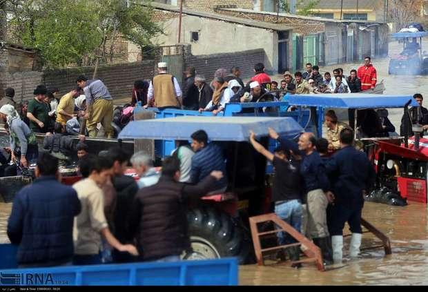 بسیج ظرفیت سپاه برای امدادرسانی به سیلزدگان گلستان