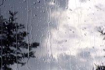 بارش باران استان کرمانشاه را فرا گرفت