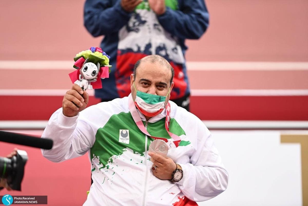 پارالمپیک 2020| مختاری: مدالم را به روح پدر و مادرم تقدیم می کنم