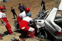 تصادف در بیرجند یک کشته و سه زخمی بر جا گذاشت