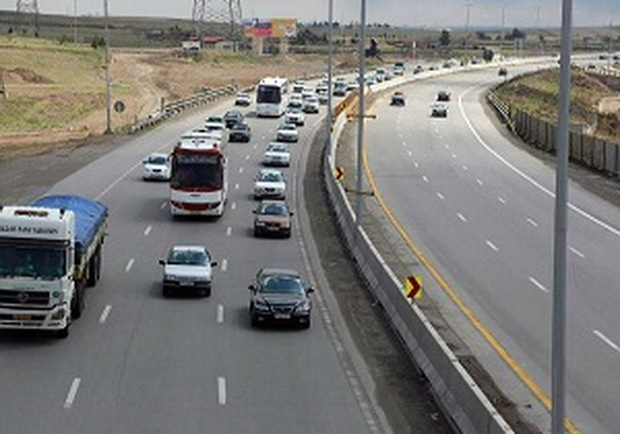 یک میلیون و 280 هزار تردد در محورهای فارس انجام شده است